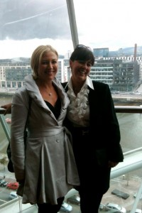 Liz and Patricia Masetti Nolan at opening of Convention Centre