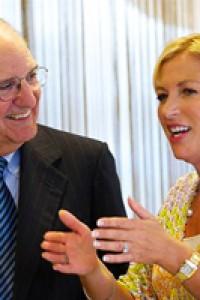 Liz O'Donnell & Senator George Mitchell