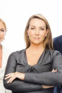 Celebrity Apprentice Board Liz, John Maguire and Caroline Downey Far Away Up Close – Photo Barry McCall
