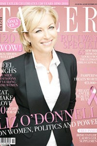 Liz O'Donnell Tatler Cover