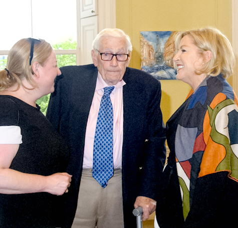 Lliz O'Donnell, Seamus Mallon and Dearbhail mcDonald