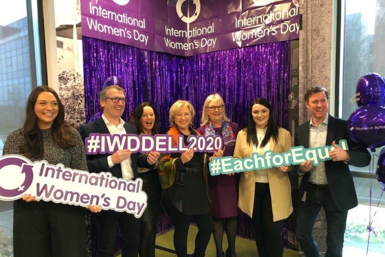 International Women's Day event at Dell technologies