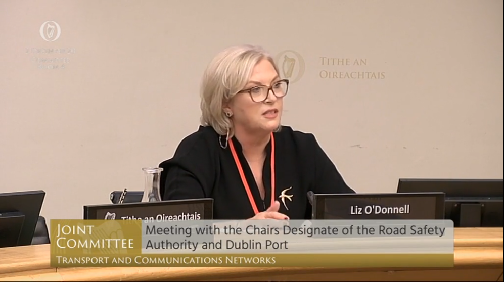 Opening address By Liz O'Donnell to the Joint Oireachtas Committee on Transport and Communication Networks